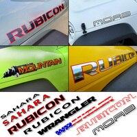 2 pçs jdm adesivos esporte motor capô fender carta lateral personagem etiqueta do carro e decalque de vinil para jeep wrangler ilimitado tj jk|Adesivos para carro| |  -