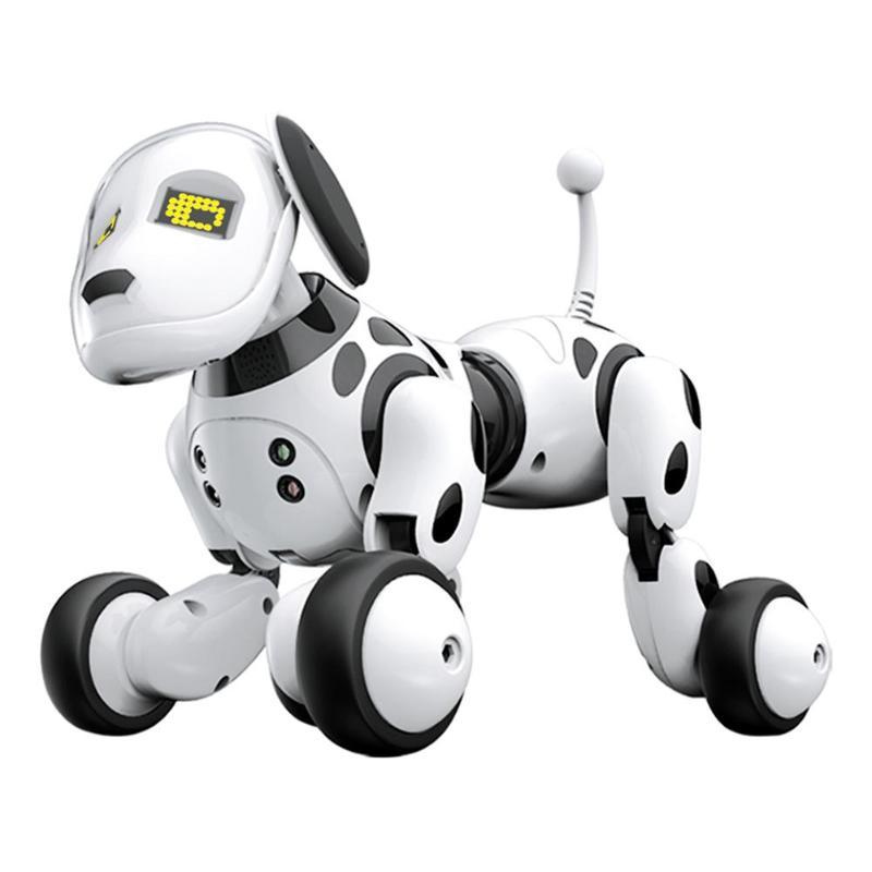 2.4G télécommande sans fil chien intelligent électronique Pet éducatif jouet pour enfants danse Robot chien sans boîte cadeau d'anniversaire