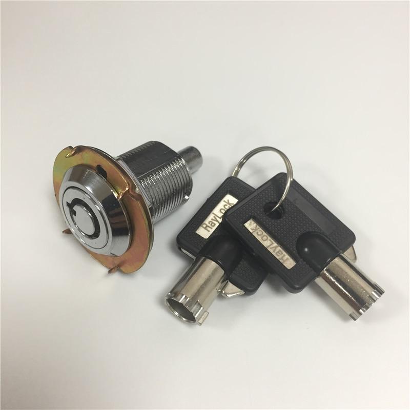 Practical Raylock Pin Mechanism Anti-rust Cylinder Lock Zinc Alloy Push Lock Keyed Press Lock Tubular Key Telescopic Lock Be Shrewd In Money Matters Home Improvement