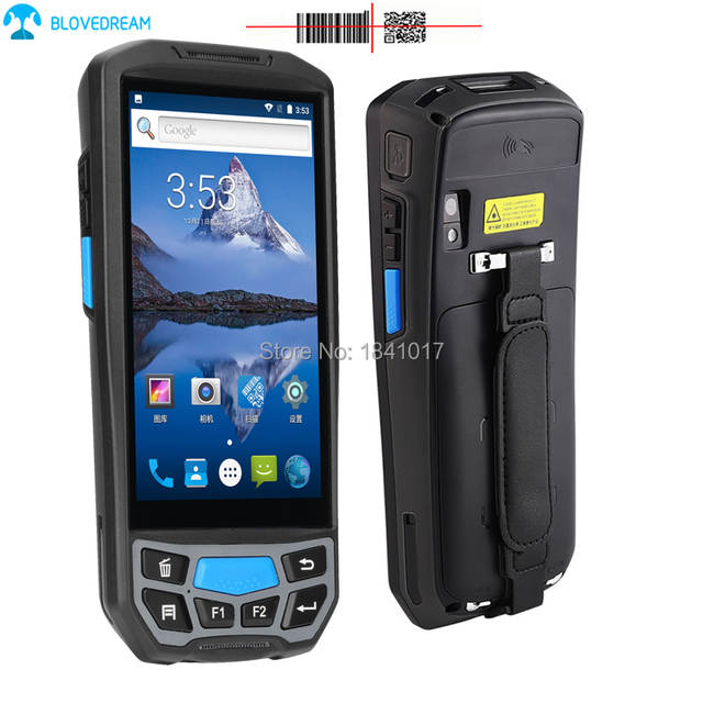 Carrier Inventory Rugged terminal Android 7 0 OS Honeywell 6603 QR code 2D  Barcode scanner handheld car pda android pdas
