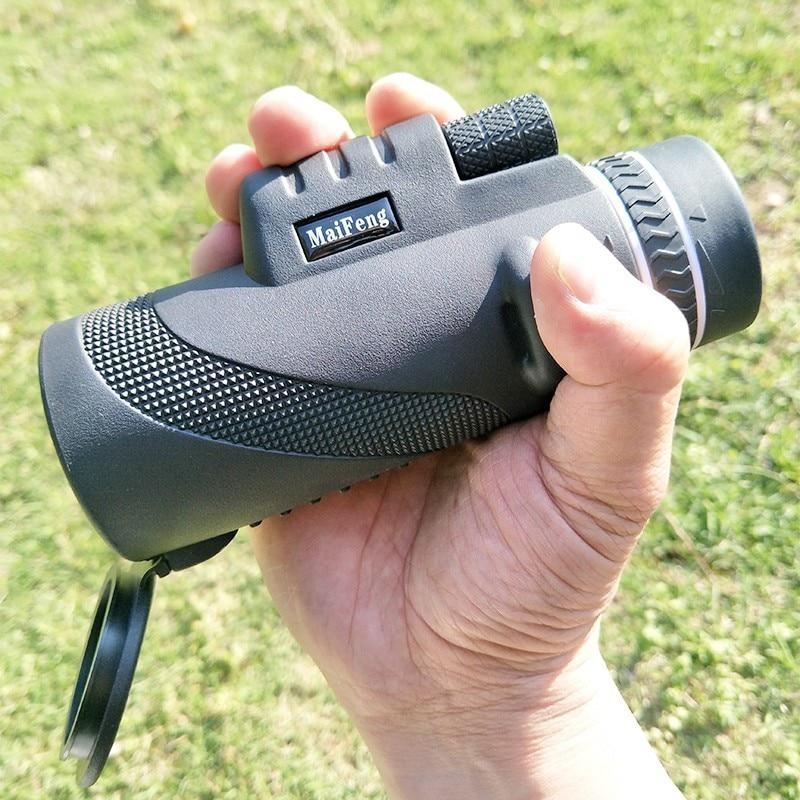 Powerful Monocular Field-Glasses Telescope Zoom 40x60 Professional Hunting-W/phone-Clip-Tripod
