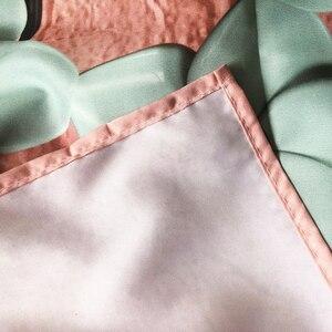 Image 5 - Nordic styl lato tropikalny kwiat babki makrama gobelin w stylu Vintage Retro poliester rose dekoracja domu do powieszenia na ścianie GN. PAPAYA