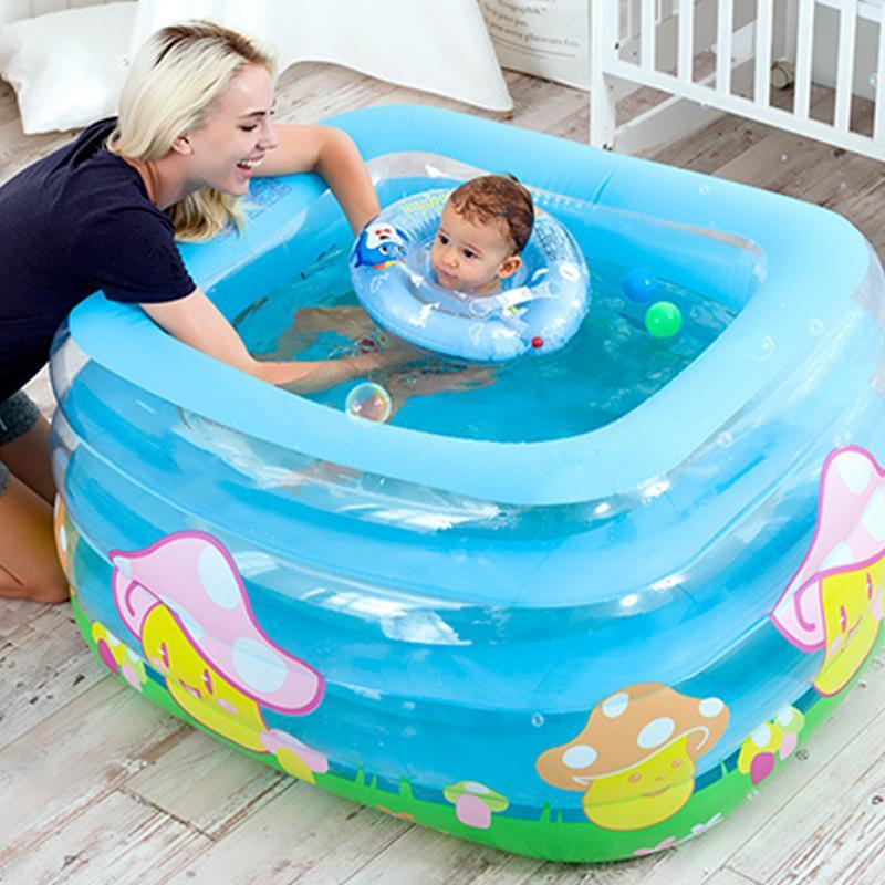 Meilleur jeu d'eau intérieur extérieur piscine gonflable bébé piscine Portable enfants bassin baignoire enfants piscine à balles bébé natation