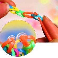 Colorful Gum for Bracelets Loom Bands Refills Cute Animal Boxed S Nail Button Bangle Loom Rubber Bands for DIY BRACELET