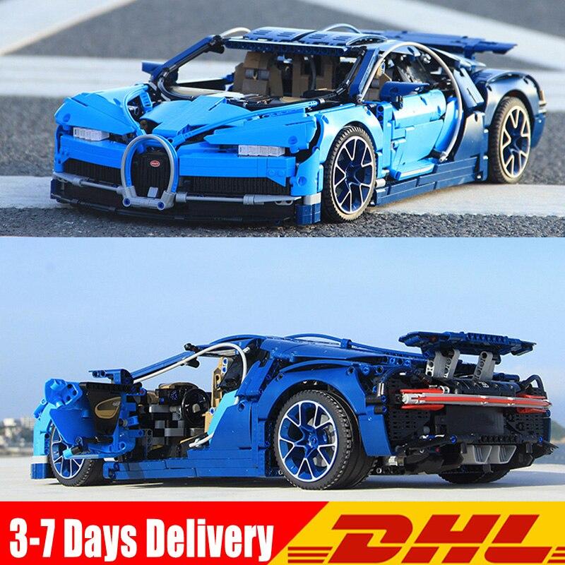 2018 Совместимость Legoingly 42083 техника Bugatti Chiron гоночный автомобиль наборы для ухода за кожей модель здания игрушечный конструктор подарок на де