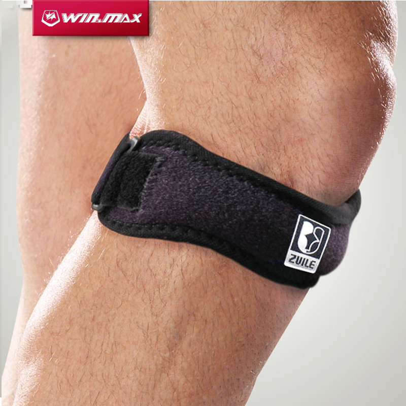Winmax Professional Kneepad Brace Pad Kneecap Chránič ProdyšnýJumper Elbow Patella Tendon Podpora Knee Strap Band Jedna Velikost