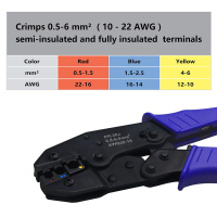 High Quality Crimping Pliers Cable Lugs Set with 700Pieces Electrical Connectors Crimp Connectors Car Repair Tool