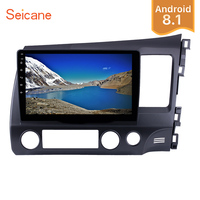 Seicane 2Din 10.1 Android 8.1 Car Radio For HONDA CIVIC RHD GPS Navigation System Multimedia Player Support Wifi 3G DVR