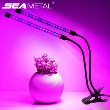 Lamp For Plant Fitolamp LED Grow Light Full Spectrum 9/18/27W Led Plant Seeds Growing Lamps Flexible Strip Indoor Plants Lights led plant grow light dimmable led grow lights for indoor plants flexible gooseneck plant light with timer 3 9 12h growing lamp
