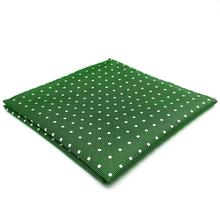 EH21 Dots Green Pocket Square for Mens Suit Business 12.6 Fashion Accessory Hanky