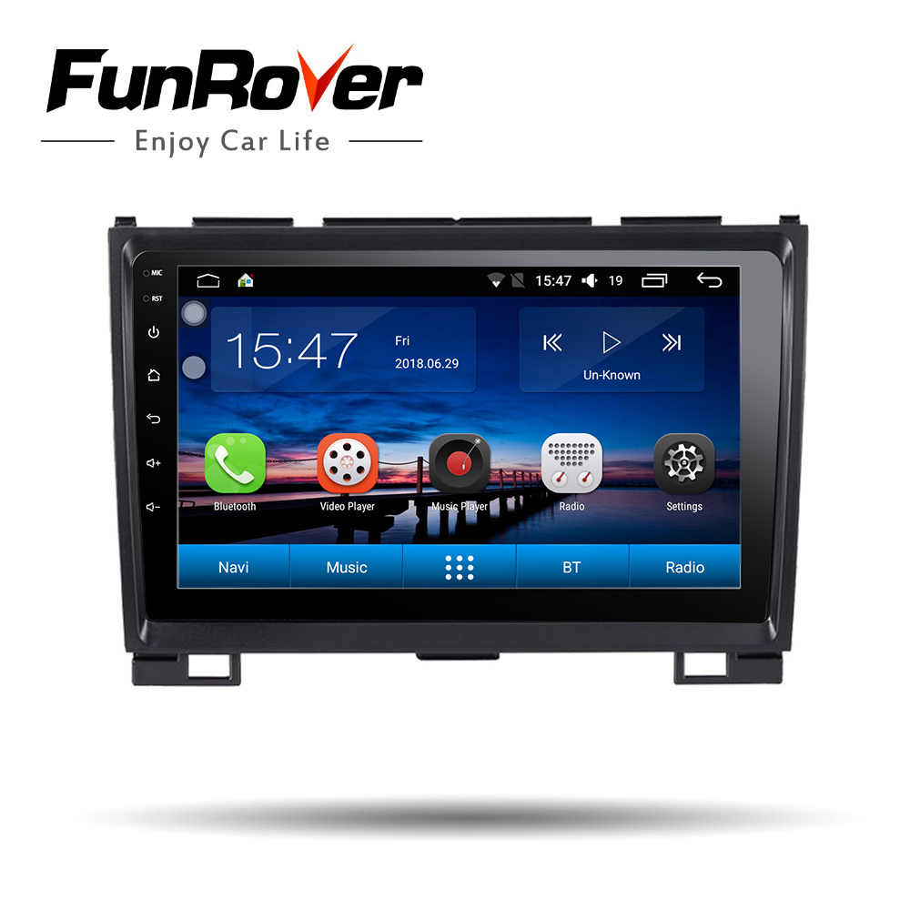 Funrover 9 android 8.0 autoradio lecteur multimédia pour Havel Hover Greatwall Grande muraille H5 H3 2 din dvd de voiture navigation gps wifi