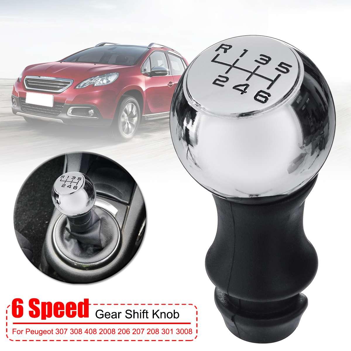 Proglam 5 Speed Alloy MT Gear Stick Shift Knob for Peugeot 106 206 207 307 308 406 408
