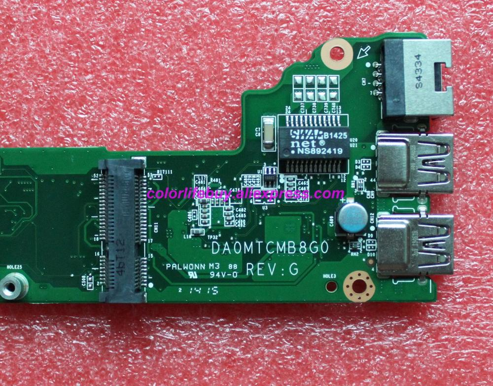 Image 3 - Genuine A000239460 DA0MTCMB8G0 HM76 Laptop Motherboard Mainboard for Toshiba C40 C40 A C45 C45 A Series Notebook PC-in Laptop Motherboard from Computer & Office