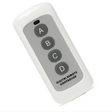 Newest 433MHz 4BTN Wireless Code Key Remote Control Switch Transmitter Remote Controller For Home Garage Door best price 8 key remote control remote control switch home light switch smart control learning code 315 433mhz
