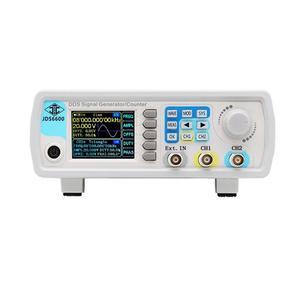 Image 2 - Enchufe europeo Jds6600 60M generador de señal de 60Mhz Control Digital función Dds de doble canal generador de señal medidor de frecuencia Arbitrar