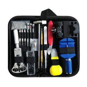 Image 2 - 147pcs 시계 수리 도구 키트 시계 링크 핀 리무버 케이스 오프너 스프링 바 리무버 Horlogemaker Gereedschap Repair WatchTool Kit