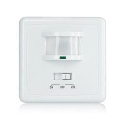 High quality wall mounted pir motion sensor light switch MAX 600w load+9m max  distance (ET031B)