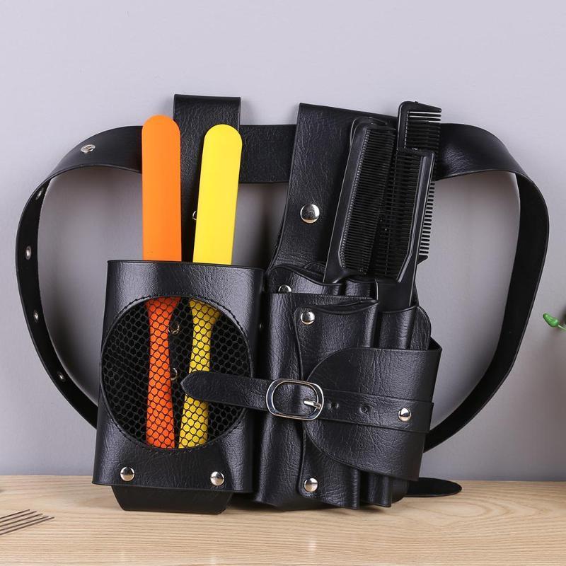 Large Capacity Waist Pack Hair Scissors Comb Bag Hairdresser Tool Bag Hairpin Bottle Bag Barber Salon Tool