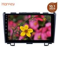 Harfey Android 8,1/7,1/6,0 9 дюймов Автомобильный DVD мультимедийный плеер для Honda CRV 2006 2007 2011 2009 2008 сенсорный экран радио головное устройство