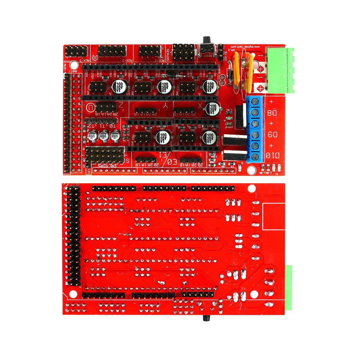 Kit imprimante 3D, rampes 1.4 + Mega 2560 + MK2B Heatbed + contrôleur I3 Suit 12864 - 3