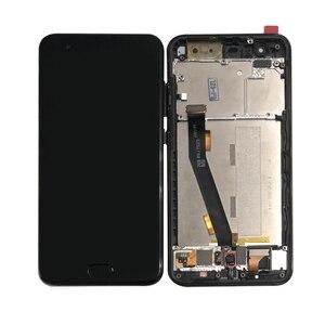 Image 3 - شاشة ام أند سين أصلية 5.15 بوصة لهاتف شاومي 6 MI 6 Mi6 M6 MI6 مع شاشة عرض LCD ببصمة الإصبع مع إطار + لوحة لمس محول رقمي لشاشة
