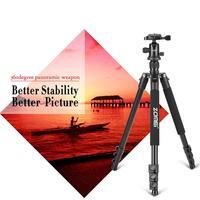 Flexible Foldable Tripod Camera Stand Mount Phone Flexible GoPro Accessories 6 10kg Black Zomei Q666 Professional Tripod