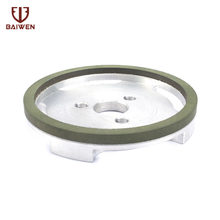 "4"" Diamond Grinding Wheel CBN Resin Three Hole For Cutter Paper Cutting Machine Milling 150 Grit(China)"