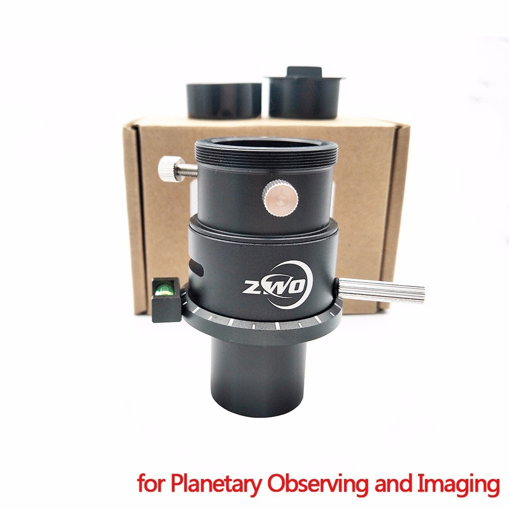 ZWO 1 25 Atmospheric Dispersion Corrector for Planetary Observing and Imaging ADC