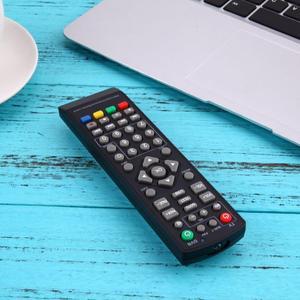 Image 3 - 1 قطعة العالمي مريحة التحكم عن بعد استبدال ل DVB T2 التلفزيون الذكية الأسود التحكم عن بعد تحتاج 2 × بطاريات AAA