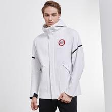 Willarde спортивная куртка осень зима мужская с высоким воротником с капюшоном ветрозащитная верхняя одежда для тренировок Спортивная одежда для бега Топы
