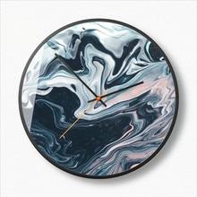 New 3D Wall Clock Simple Abstract Quartz Large Size 30cm 35cm Modern Design Duvar Saati For Living Room