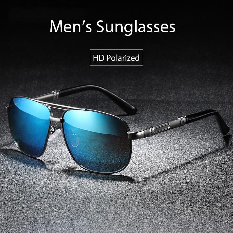 6a1b1a8d9d BAVIRON 2019 nuevo piloto polarizado gafas de sol hombres protección 100%  contra los rayos uva y uvb Retro gafas de sol, gafas de sol de conducir  hombre ...