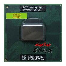 إنتل كور 2 ديو T9800 SLGES 2.9 GHz ثنائي النواة المزدوجة موضوع معالج وحدة المعالجة المركزية 6 M 35 W المقبس P