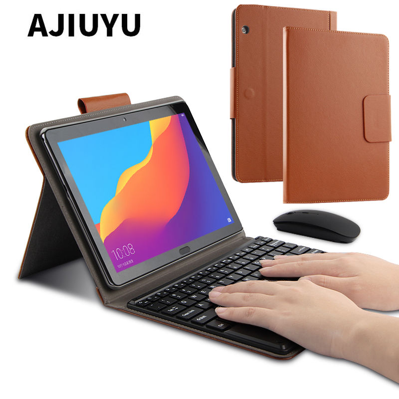 Étui pour huawei MediaPad T5 10 sans fil Bluetooth étui de protection pour clavier huawei T5 AGS2-W09/L09/L03/W19 10.1