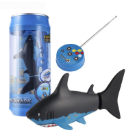 Kids Mini RC Submarine 4 CH Remote Small Sharks With USB Remote Control Toy Fish Boat Best Christmas Gift for Boy Children ZLRC