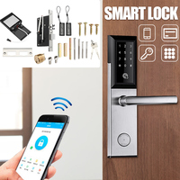 Security Electronic Door Lock APP WIFI bluetooth Smart Screen Lock, Digital Code Keypad Deadbolt For Home Hotel Apartment