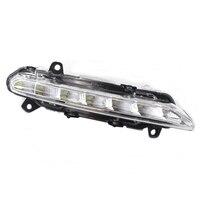 LED Daytime Running lights fog light for Mercedes benz W204 W218 W221 X204 C CLS S GLK 2007 2013