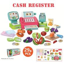 Cash Register With Scanner Weighing Scale Electronic Educati