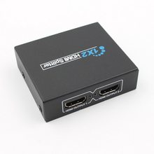20 pcs HDMI Splitter Full HD 1080 p Video HDMI Switcher 1X2 Split 1 in 2 Out Dual display Per HDTV DVD PS3 Xbox(China)