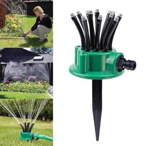 360 grad Einstellbar Rasen Sprinkler Automatische Bewässerung für Garten Hof XHC88
