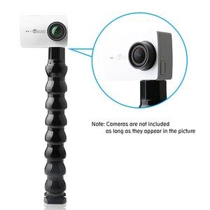 Image 5 - Soporte de cámara, abrazadera Flexible, Clip de montaje, tubo de brazo de cuello ajustable con tornillo de 1/4 pulgadas, accesorio de fotografía para GoPro Hero