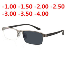 Transition Sunglasses Photochromic myopia Eyeglasses Finished Glasses for Men Computer Optical Frame