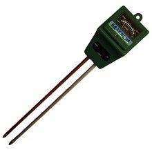 Измеритель кислотности почвы МЕГЕОН 35280  (Диапазон измерений 3,5-8 ph, измерение значения pH, измерение влажности, измерение освещения)