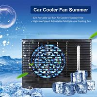 12V Portable Car Fan Air Cooler Fluoride Free High low Speed Adjustable Multiple use Cooling Fan