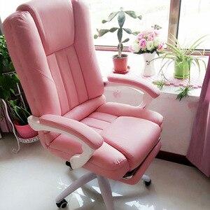 Image 1 - האיחוד האירופי ישיר זריעה ביתי משחק נוח מסתובב כיסא בוס עובד במשרד מירוץ זריעה cadeira גיימר RU