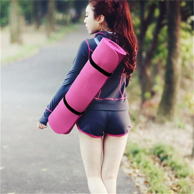 183*61*1cm Thickess Non-Slip Yoga Mat Sport Gym Soft Pilates Mats Foldable for Body Building Fitness Exercises Equipment
