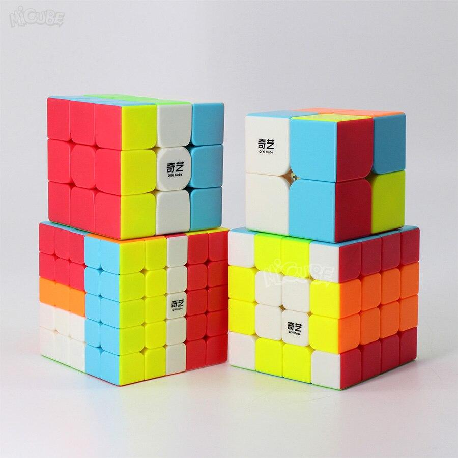 Qiyi Magic Speed Cube 3x3x3 2x2x2 4x4x4 5x5x5 7x7x7 Pyramid Sq1 Mirror Puzzle Cubo Magico 2x2 3x3 4x4 5x5 7x7 Toys For Children