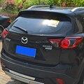 Для Mazda CX-5 CX5 спойлер на крышу 2014-2016 ABS пластик Неокрашенный задний спойлер на крыло  крышу багажник для губ крышка багажника для автомобиля С...