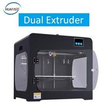HUAFAST HS-322 3D-принтеры двойной экструдеры двойные сопла большой встроенный Размеры металла Структура Мощность сбой резюме MK10 вытянуть Prusa