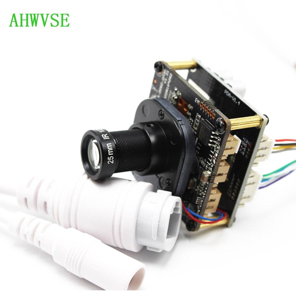 XMeye POE IP Camera with 3mp 25mm Lens CCTV POE IP Camera module Board PCB 720P 1080P ONVIF H264 Mobile IRCUT ONVIF